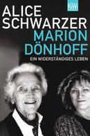 Alice Schwarzer: Marion Dönhoff ★★★★