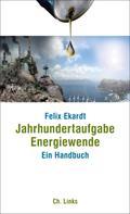 Felix Ekardt: Jahrhundertaufgabe Energiewende