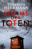 Elisabeth Herrmann: Stimme der Toten ★★★★