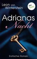Leon von Winterstein: Adrianas Nacht ★★★