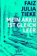 Julia Tieke: Mein Akku ist gleich leer ★★★★