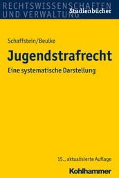 Jugendstrafrecht - Eine systematische Darstellung