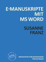 E-Manuskripte mit MS Word