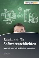 Jan Peuker: Baukunst für Softwarearchitekten ★★