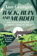 Ann Granger: Rack, Ruin and Murder