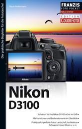 Foto Pocket Nikon D3100 - Der praktische Begleiter für die Fototasche!