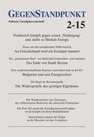 GegenStandpunkt Verlag München: GegenStandpunkt 2-15 ★