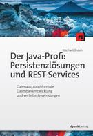 Michael Inden: Der Java-Profi: Persistenzlösungen und REST-Services ★★★★★