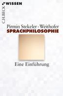 Pirmin Stekeler-Weithofer: Sprachphilosophie
