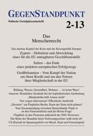 GegenStandpunkt Verlag München: GegenStandpunkt 2-13