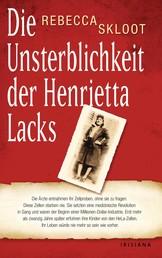 Die Unsterblichkeit der Henrietta Lacks - Die Ärzte entnahmen ihr Zellproben, ohne sie zu fragen. Diese Zellen starben nie. Sie setzten eine medizinische Revolution in Gang und waren der Beginn einer Millionen-Dollar-Industrie. Erst über 20 Jahre später erfuhren ihre Kinder von den HeLa-Zellen.