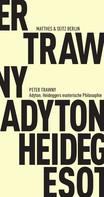 Peter Trawny: Adyton