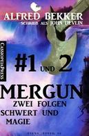 Alfred Bekker: Mergun 1 und 2: Zwei Folgen Schwert und Magie ★★