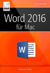 Word 2016 für Mac