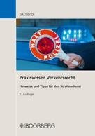 Robert Daubner: Praxiswissen Verkehrsrecht