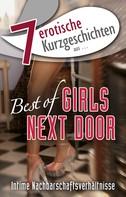 """Lisa Cohen: 7 erotische Kurzgeschichten aus: """"Best of Girls Next Door"""" ★★★"""