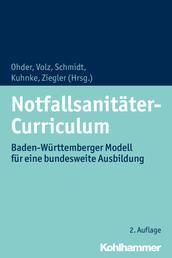 Notfallsanitäter-Curriculum - Baden-Württemberger Modell für eine bundesweite Ausbildung
