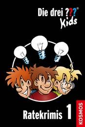 Die drei ??? Kids, Ratekrimis 1 (drei Fragezeichen Kids) - 3 Kurzgeschichten