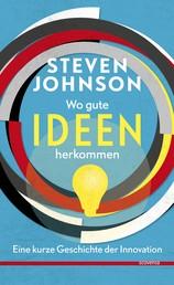Wo gute Ideen herkommen. - Eine kurze Geschichte der Innovation.