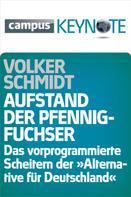Volker Schmidt: Aufstand der Pfennigfuchser ★★