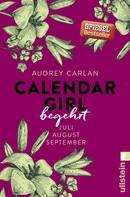 Audrey Carlan: Calendar Girl - Begehrt ★★★★★