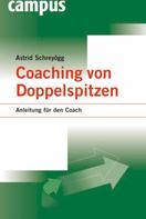 Astrid Schreyögg: Coaching von Doppelspitzen