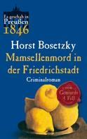 Horst Bosetzky: Mamsellenmord in der Friedrichstadt ★★★★