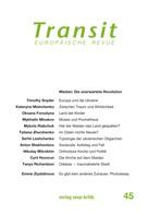 Timothy Snyder: Transit 45. Europäische Revue