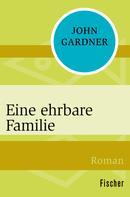 John Gardner: Eine ehrbare Familie ★★★★★