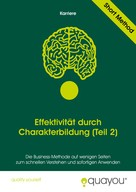 Quayou GmbH: Effektivität durch Charakterbildung (Teil 2)
