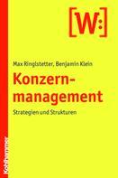 Max Ringlstetter: Konzernmanagement