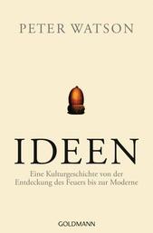 Ideen - Eine Kulturgeschichte von der Entdeckung des Feuers bis zur Moderne