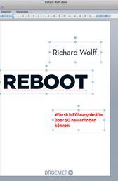 Reboot - Wie sich Führungskräfte über 50 neu erfinden können