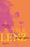 Herbert Kraft: J.M.R. Lenz