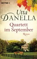 Utta Danella: Quartett im September ★★★★