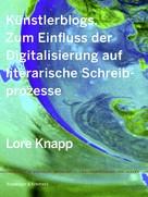 Lore Knapp: Künstlerblogs