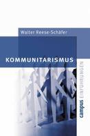 Walter Reese-Schäfer: Kommunitarismus