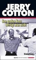 Jerry Cotton: Den großen Boss betrügt man nicht ★★★★