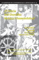 Günther Jakobs: Ciencia del derecho: Técnica o humanística