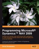 David Studebaker: Programming MicrosoftΠDynamicsT NAV 2009