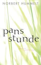 Pans Stunde - Gedichte