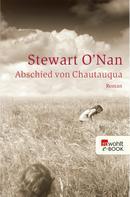 Stewart O'Nan: Abschied von Chautauqua ★★★★