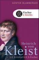 Günter Blamberger: Heinrich von Kleist