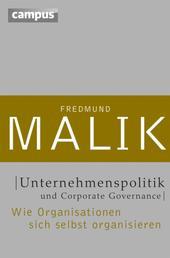 Unternehmenspolitik und Corporate Governance - Wie Organisationen sich selbst organisieren