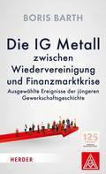 Boris Barth: Die IG Metall zwischen Wiedervereinigung und Finanzkrise
