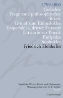 Friedrich Hölderlin: Sämtliche Werke, Briefe und Dokumente. Band 8