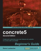 Remo Laubacher: concrete5 Beginner's Guide