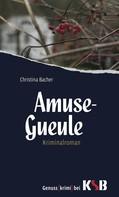 Christina Bacher: Amuse-Gueule ★★★