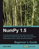 Ivan Idris: NumPy 1.5 Beginner's Guide