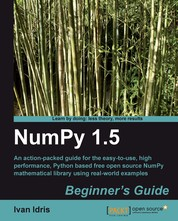 NumPy 1.5 Beginner's Guide